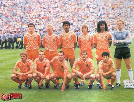 Nederlands elftal, EK 88
