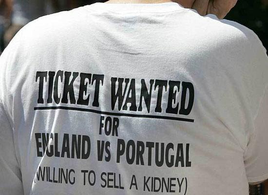 Gelukkig voor hem was dit de laatste wedstrijd van Engeland op het WK