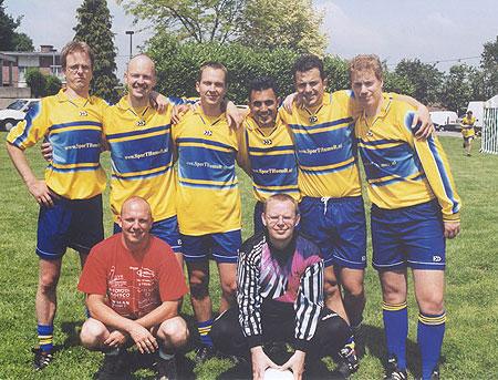 Het SporTHumoR-team