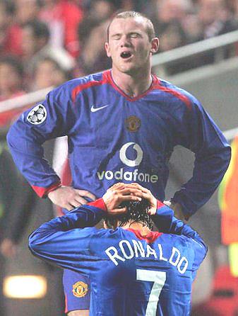 Ronaldo en Rooney maken het weer goed